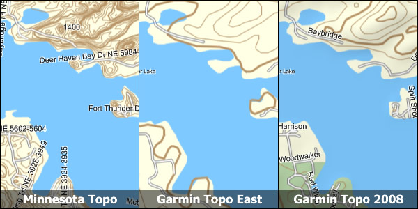 Free topo maps for your garmin gps paddlinglight gumiabroncs Gallery