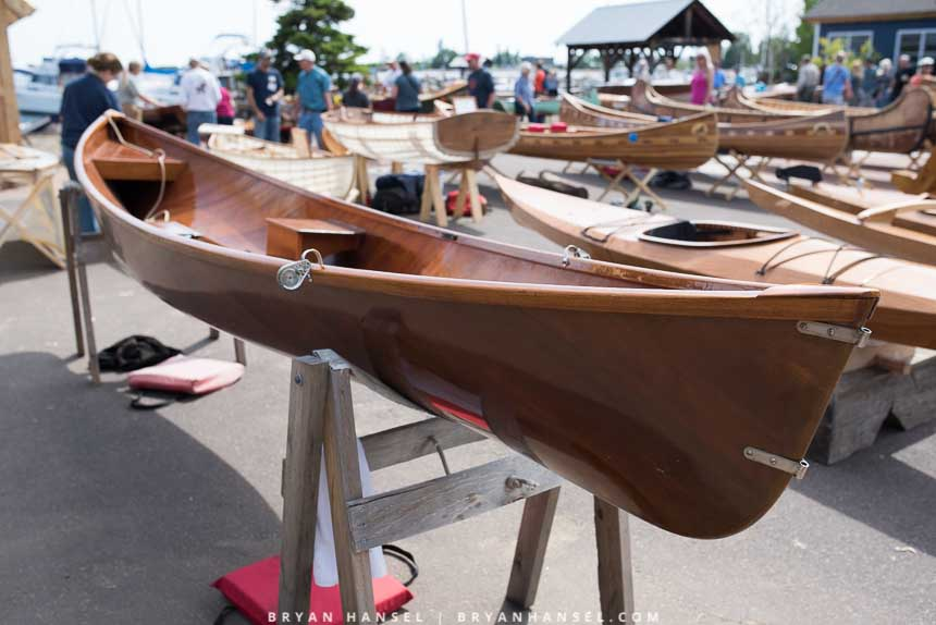 North House Folk School's Wooden Boat Show 2016 • PaddlingLight.com